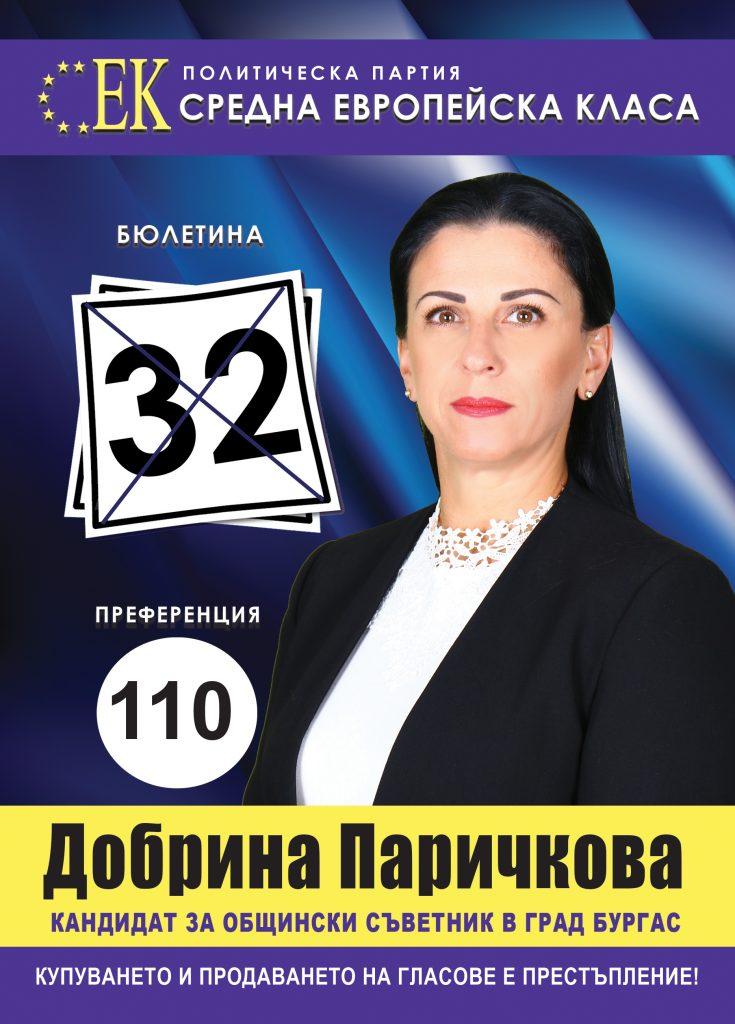 Добрина Паричкова